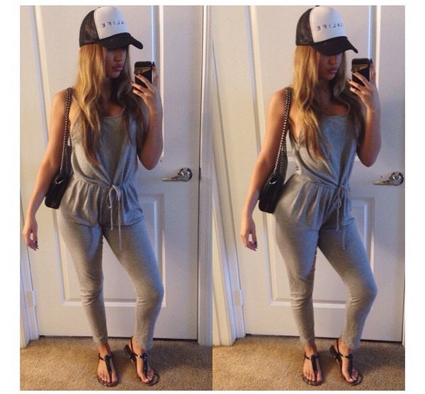 jumpsuit girly girl jersey jumpsuit summer outfits