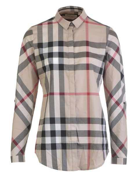 Burberry shirt cotton new classic top