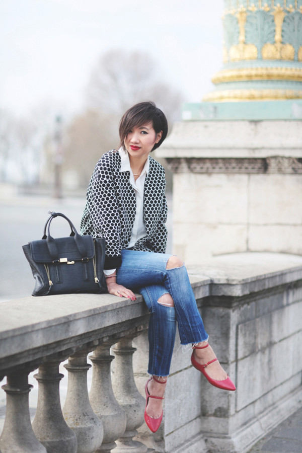 le monde de tokyobanhbao jacket shirt jewels bag jeans