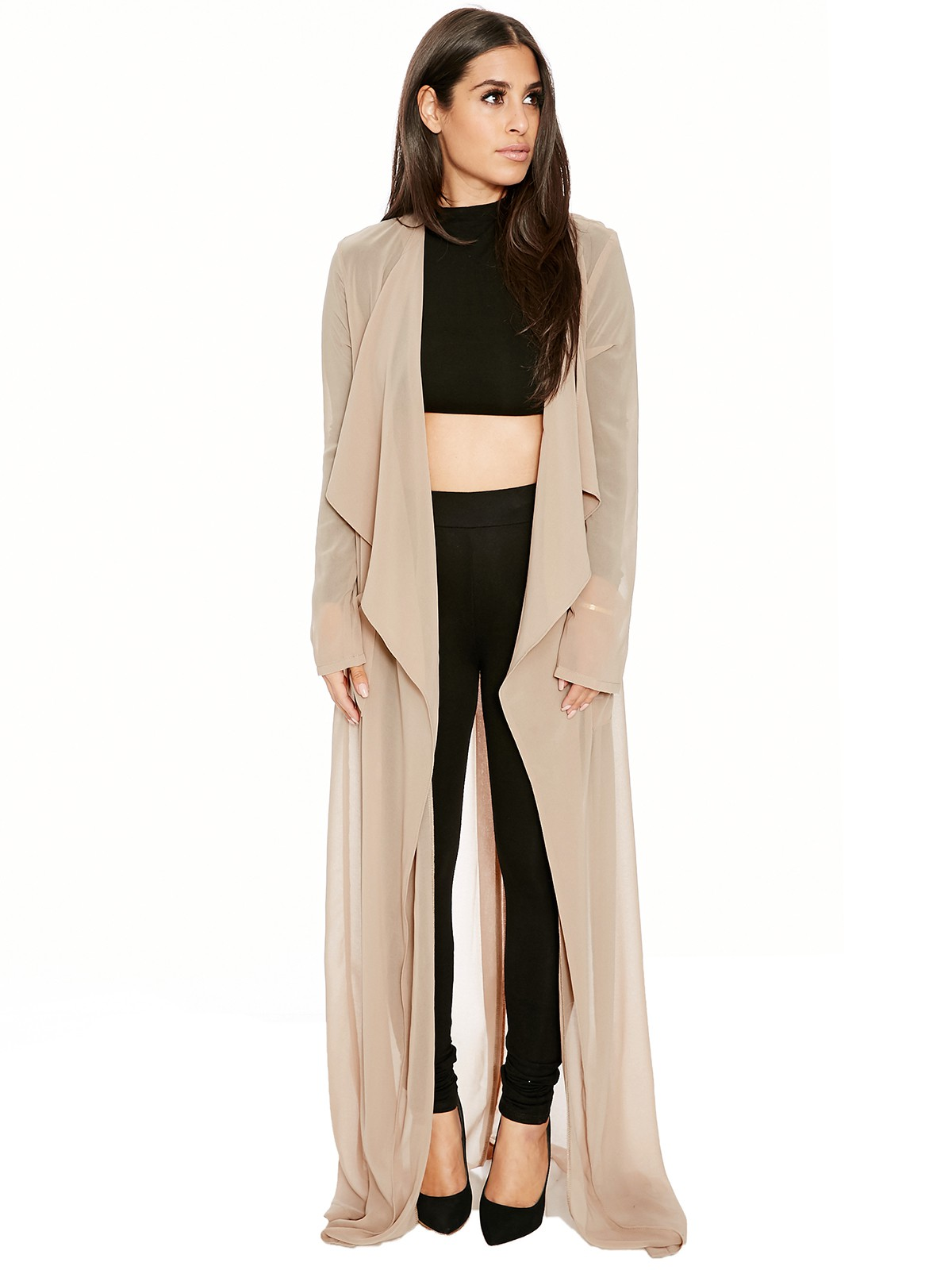 Long NW Trench Outerwear Womens Nakedwardrobe