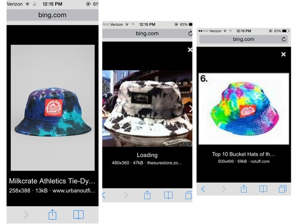 hat stussy bucket hat tie dye