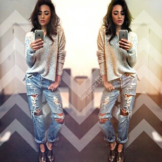 jeans boyfriend jeans style shay mitchell