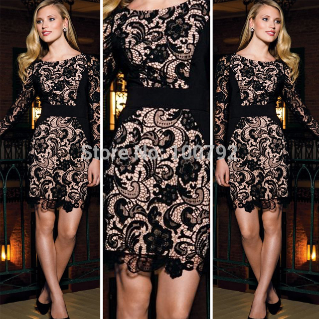 Aliexpress.com : buy new 2014 bandage overup lace long sleeve bodycon dresses summer 2014 sexy women's crochet party evening pencil dress from reliable dresses leopard suppliers on pelum factory outlet