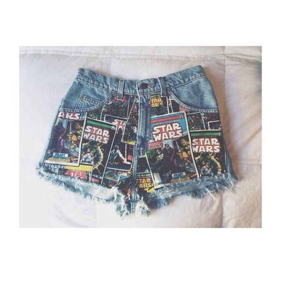 denim shorts indie