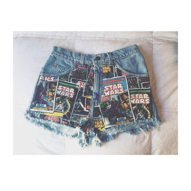 shorts denim indie