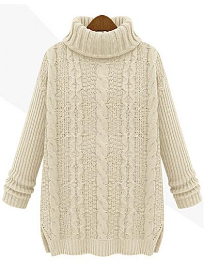 Apricot new autumn long sleeve turtle neck sweater_sweaters & knitwear_women tops_women's fashion dresses,blouses,t shirts,sweaters,jackets,cardigan,coats,tops,skirts shop