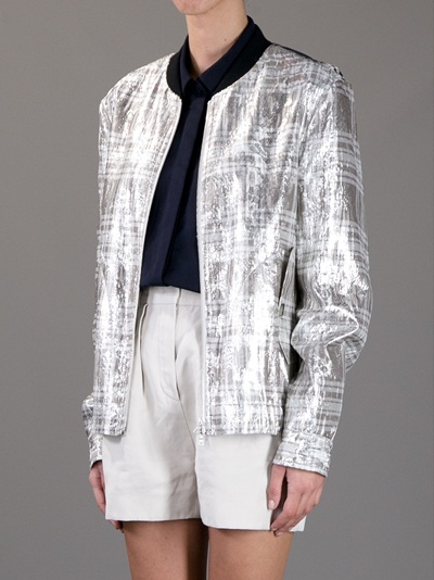 Dries Van Noten Contrast Jacket -  - Farfetch.com