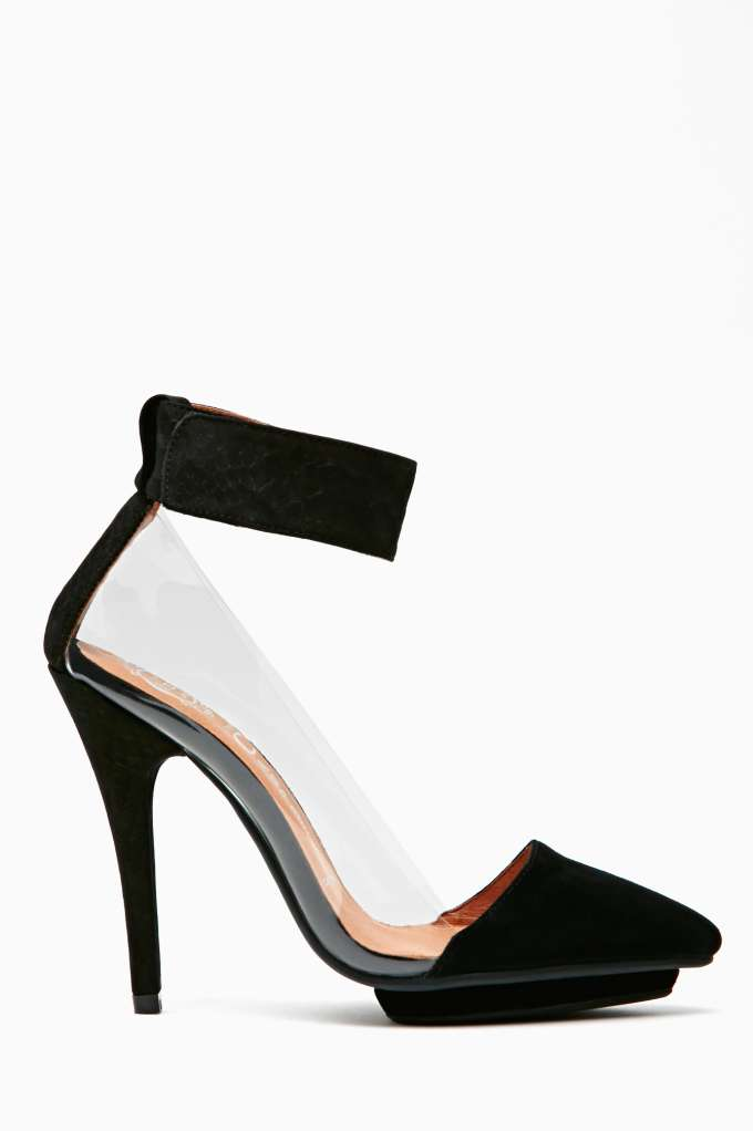 Jeffrey Campbell Kissey Pump in  What's New Shoes at Nasty Gal