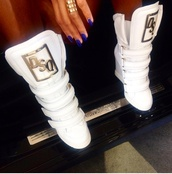 shoes,high top sneakers,dsquared2,dsquared,dsquard,dsquared cropped slim jeans