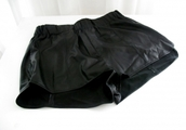 shorts,cuire,leather,faux cuir,faux leather,black shorts,shiny,Pop Couture