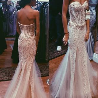 dress white dress prom dress sequined price runway macduggal