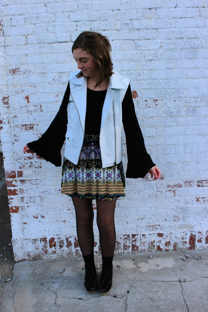tunes and tunics blogger skirt