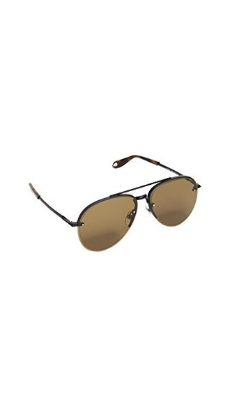 sunglasses aviator sunglasses matte black brown matte black
