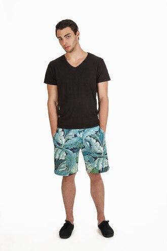 shorts menswear printed shorts beach shorts flowered shorts summer shorts mens shorts urban menswear