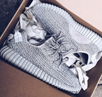 shoes adidas yeezy boost grey