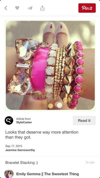 nail accessories bracelets bow bow bracelets studded bracelet