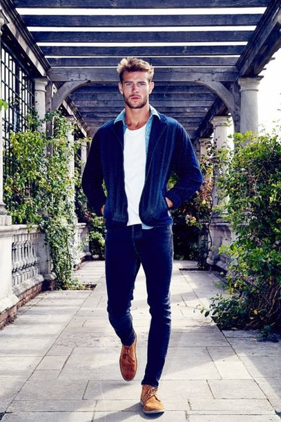 Jacket: blue jacket, blue jacket men, bomber jacket, mens blazer ...