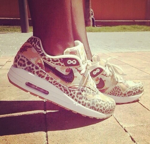 shoes cheetah print nike nike shoes with leopard print