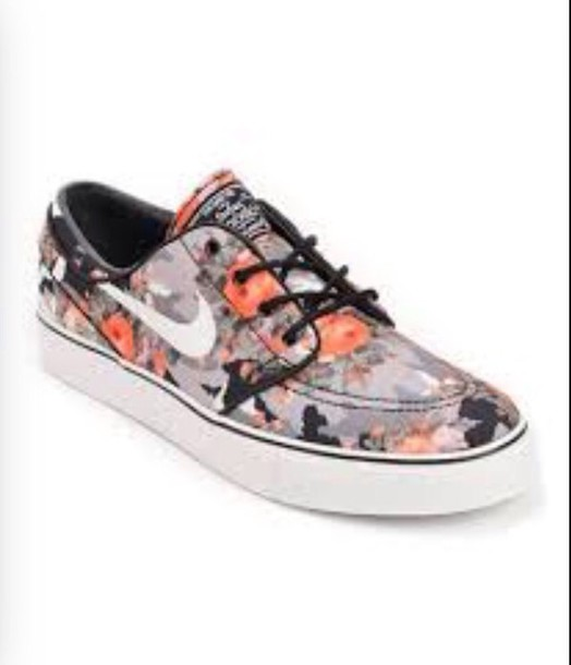 shoes flowers nikes brand is zumiez.com