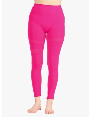 fa869a24b2 Neon Pink Look at The Bright Side Leggings | $7.50 | Cheap Trendy ...