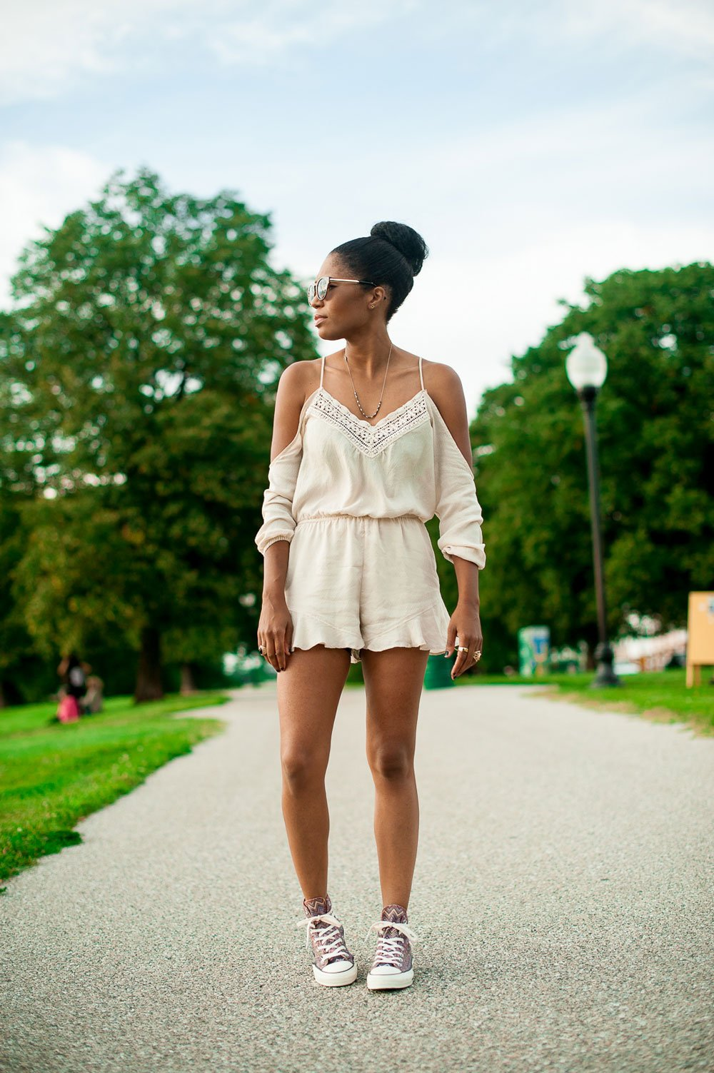 Romper - Four One Oh! | Baltimore Fashion Blogger