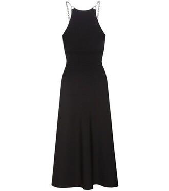 dress embellished black