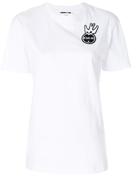 McQ Alexander McQueen t-shirt shirt t-shirt short classic white top
