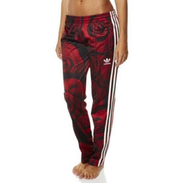 pants red roses adidas trackpants adidas tracksuit bottom camouflage camo pants adidas camo white black