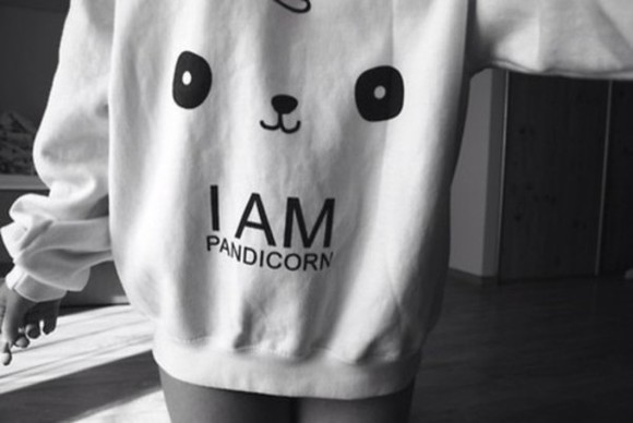 unicorn cute panda pandicorn