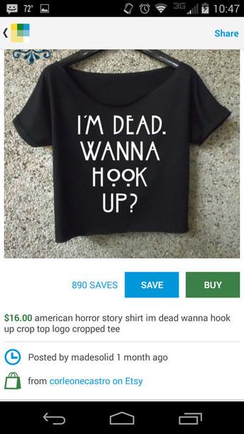 shirt american horror story dead