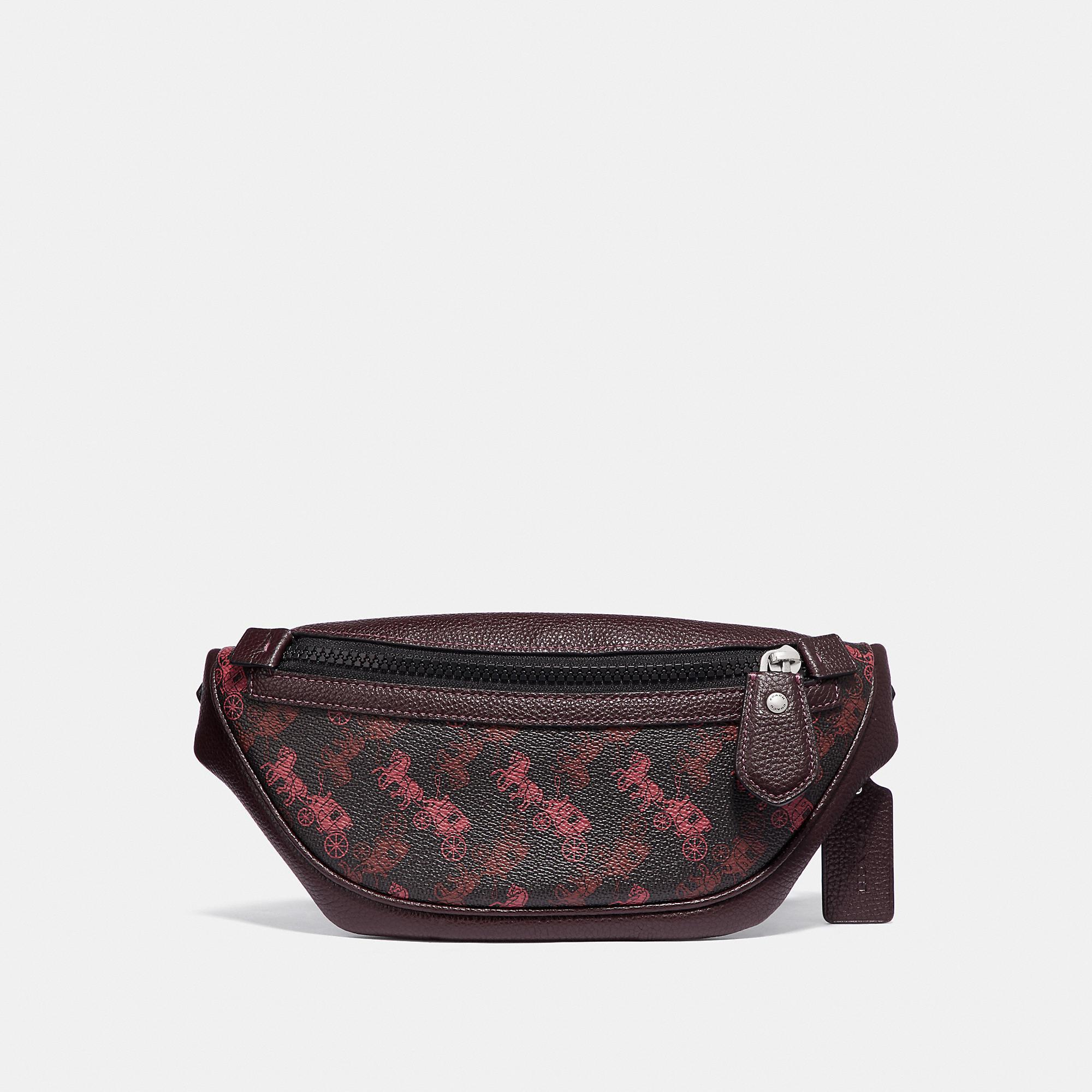 Rivington Belt Bag 7 With Horse And Carriage Print