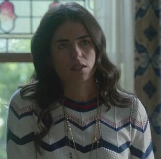 sweater stripes chevron how to get away with murder laurel castillo karla souza