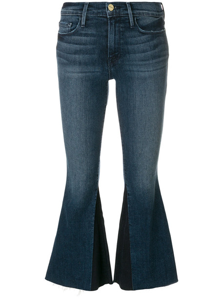 jeans cropped jeans cropped women spandex cotton blue