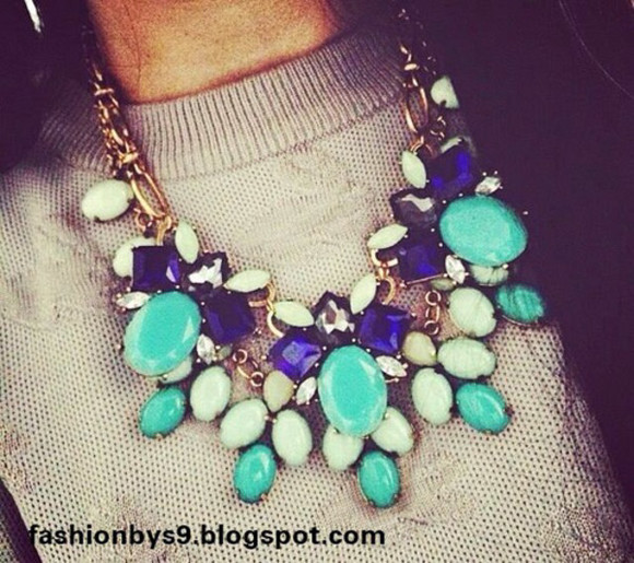 jewels stone crystals raw necklace