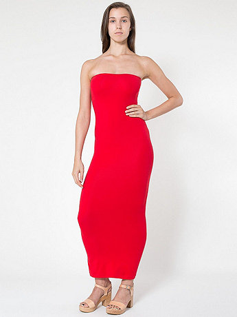 Cotton Spandex Jersey Tube Dress | American Apparel