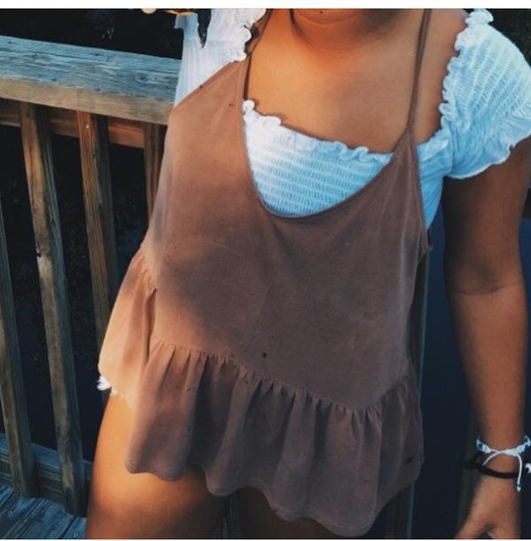 shirt brown shirt