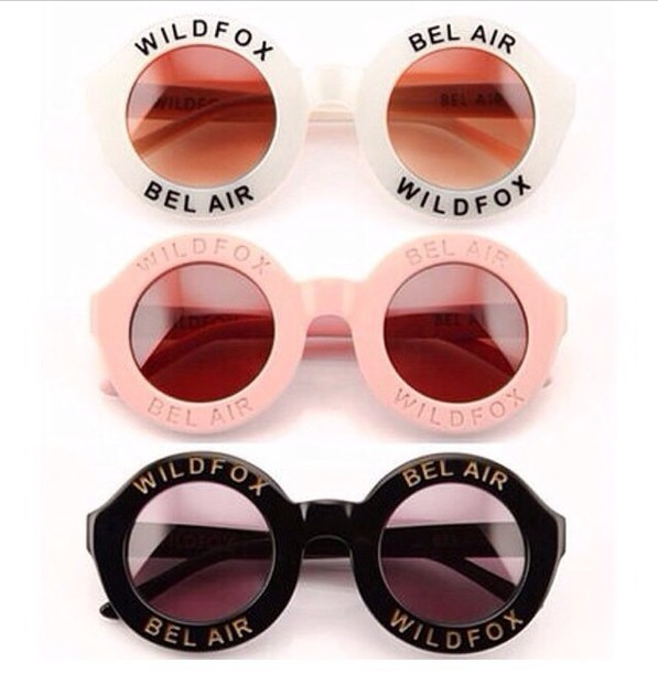 ad08dadbd80 sunglasses wildfox wild fox pink pink sunglasses white white sunglasses  black black sunglasses bel air bel