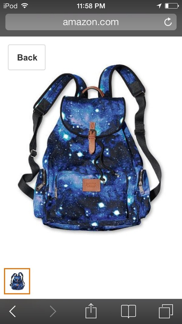 bag galaxy print victoria's secret amazon