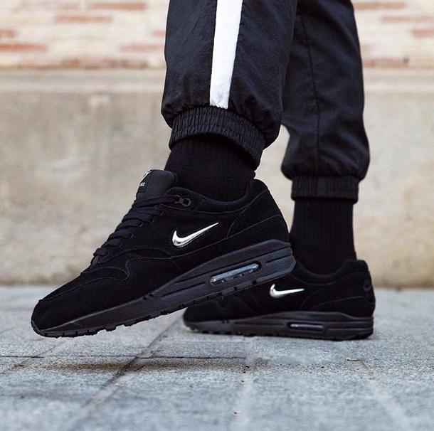 pants black oversized joggers pants