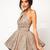 Fashion V-Neck Sequined Dress