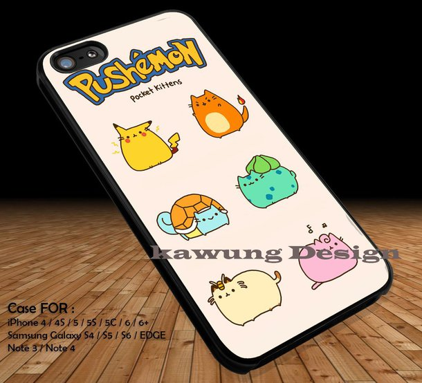 pusheen iphone 8 case