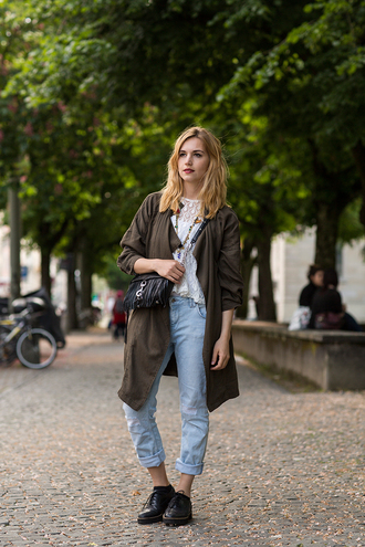fashion gamble blogger jacket bag top jeans shoes jewels