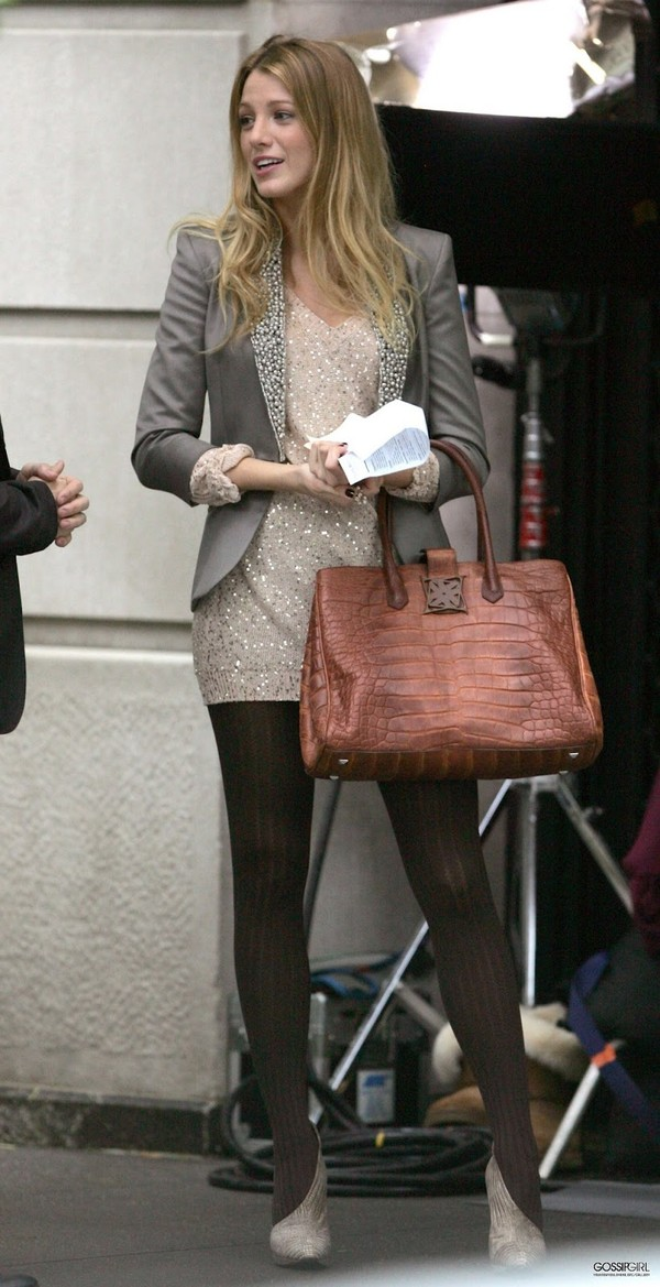 jacket blazer blake lively serena van der woodsen grey blazer sequins sequin jacket blouse shoes dress