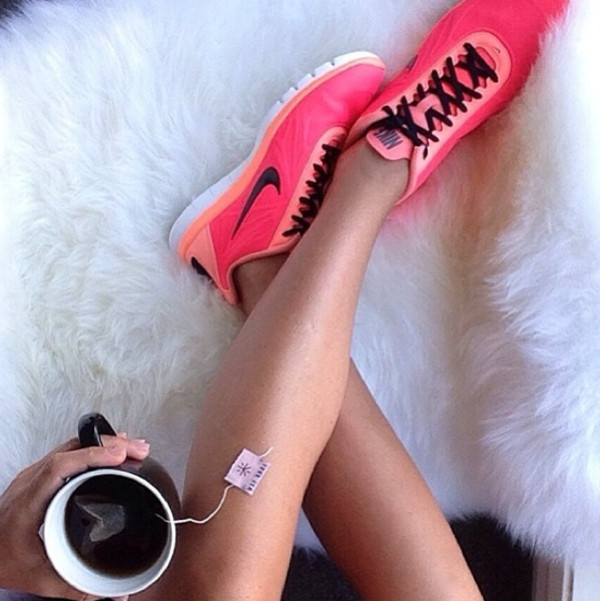 shoes nike pink running shoes womens running shoes orange just do it cute funny nike running shoes nike pink black
