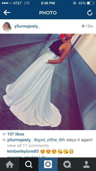 dress top maxi skirt elegant dress