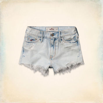 Hollister High Rise Short-Shorts on Wanelo