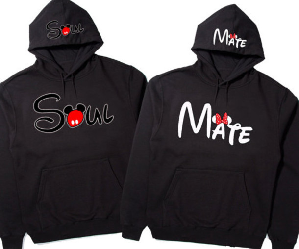 mouse hoodies minnie mouse disney couples sweatshirt boys and girls