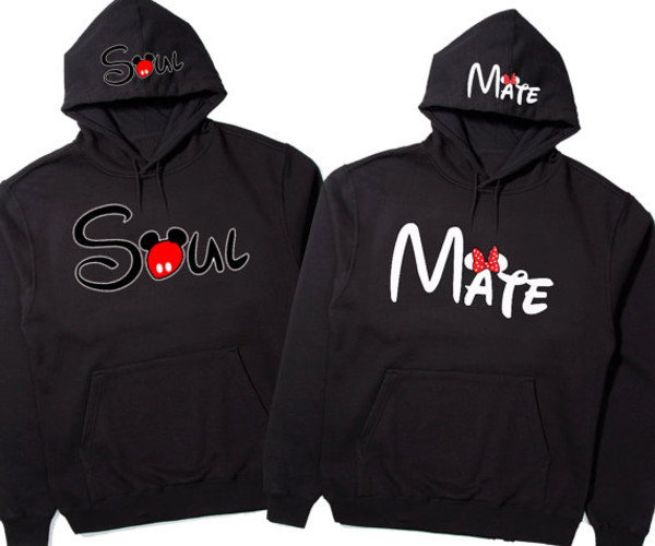 sweater sweatshirt mickey mouse hoodies minnie mouse disney couples sweatshirt boys and girls