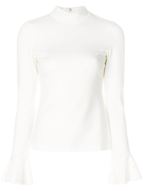 Alexis sweatshirt women spandex white sweater