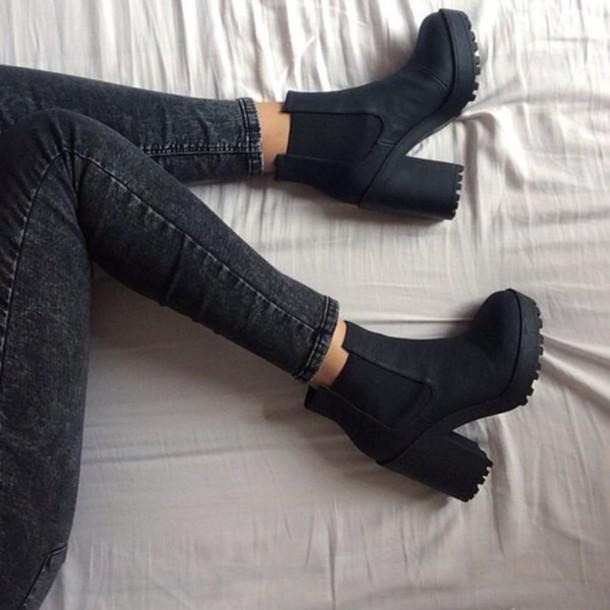 Block Heel Shoes Topshop